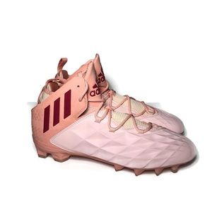 New Adidas Freak LAX Mid Cleats Icey Pink